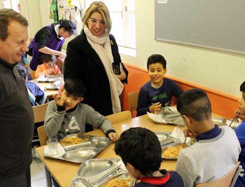 El Consell Comarcal del Baix Ebre supervisa el funcionament dels menjadors escolars