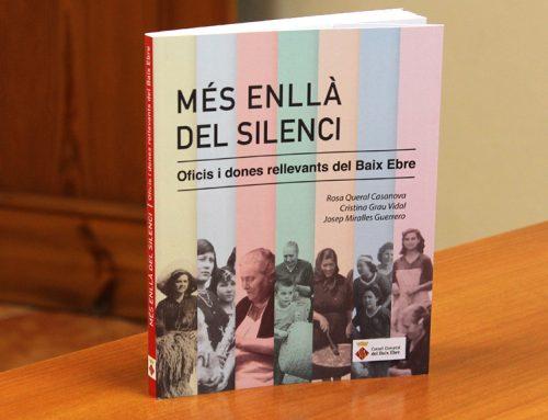 El Consell Comarcal del Baix Ebre publica el llibre 'Mes enllà del silenci'