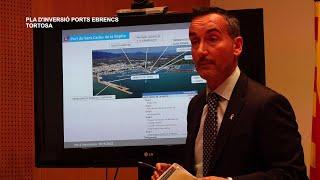 Presentació del pla d'inversió als Ports Ebrencs  a Tortosa