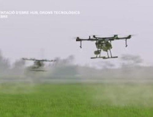 Presentació Ebre Hub, drons tecnològics a Deltebre