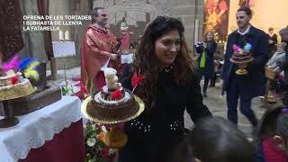 Sant Blai 2019: Ofrena de les tortades i subhasta de llenya a La Fatarella