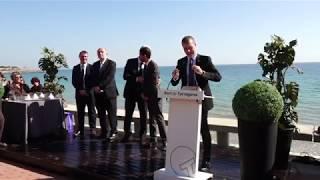 Port de Tarragona - Inauguració de la remodelació del Passeig del Miracle