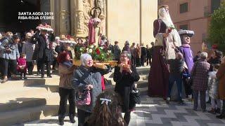 Santa Agda 2019: Missa i processó en honor a Santa Agda a Riba-Roja d'Ebre