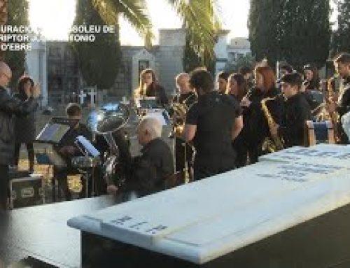 Móra d'Ebre inaugura el Mausoleu de l'escriptor Julio Antonio