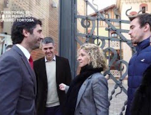Visita territorial del conseller Puigneró a Móra d'Ebre i Tortosa