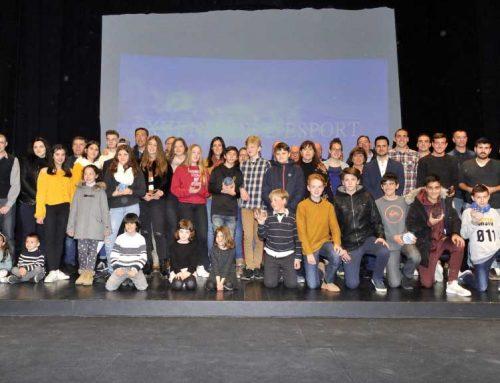 Oriol Romeu i Sandra Rovira, protagonistes de la Nit de l'Esport d'Ulldecona