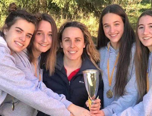 L'atleta morenca Oxana Bonjorn campiona de Catalunya per tercer any consecutiu