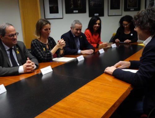 El delegat del Govern es mostra prudent amb les negociacions per reubicar els parcs eòlics de la Terra Alta