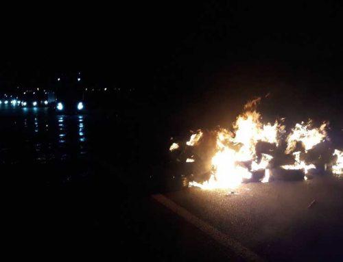 Afectacions a les carreteres a Camarles i Alcanar reclamant la llibertat dels presos polítics