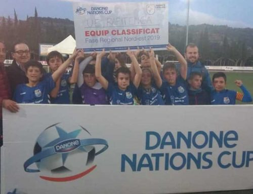 La Rapitenca es classifica per la fase de Catalunya de la Danone Nations Cup