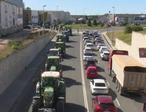 Tractorada per reclamar millores al sector de la pagesia