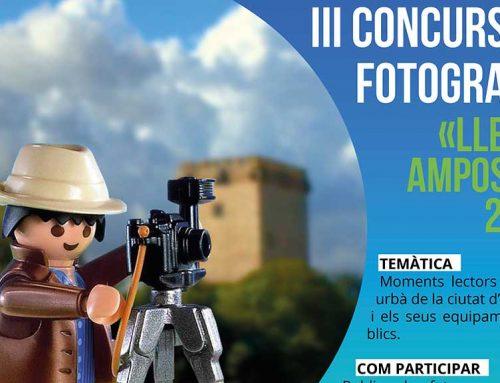 """Convocat la tercera edició del concurs de fotografia """"Llegim Amposta 2019"""""""