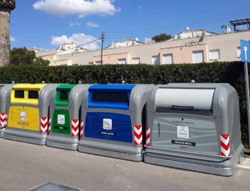 Alcanar implanta un sistema modern de recollida d'escombraries