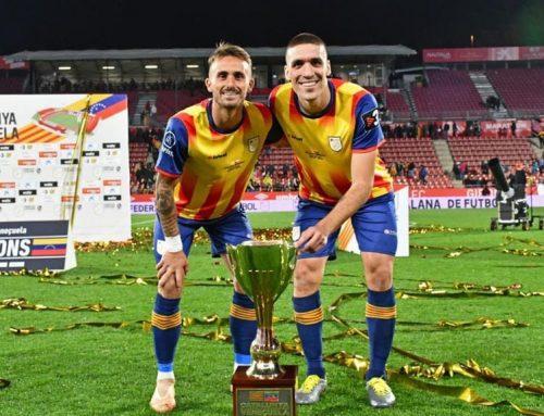 Oriol Romeu i Aleix Garcia campions amb Catalunya davant Veneçuela