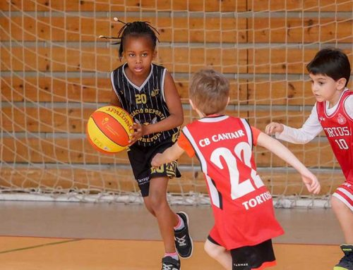 Èxit de la trobada d'escoles de bàsquet celebrada a Amposta