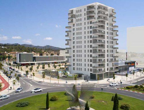 Espectaculars imatges de la Tortosa del futur amb l'edifici residencial la Torre