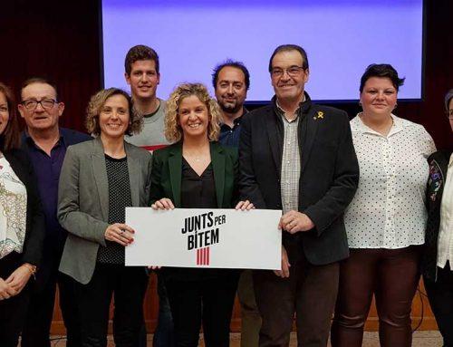 Lourdes Domènech agafa el relleu de Josep Cugat al capdavant de Junts per Bítem