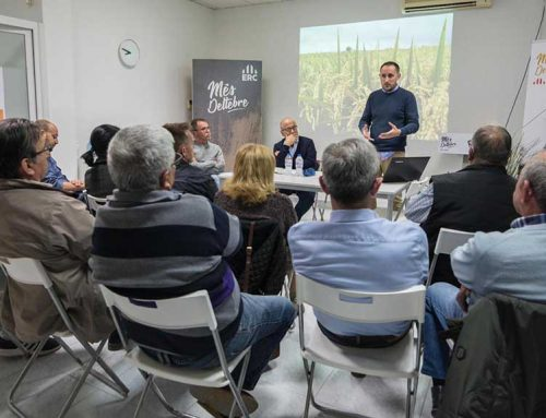 Acte preelectoral de la candidatura de Més Deltebre sobre el sector primari