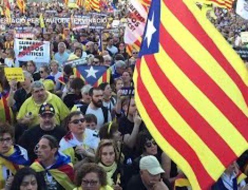 Manifestació per l'autodeterminació a Madrid