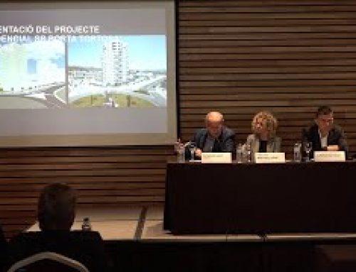 Presentació del projecte Residencial SB Porta Tortosa