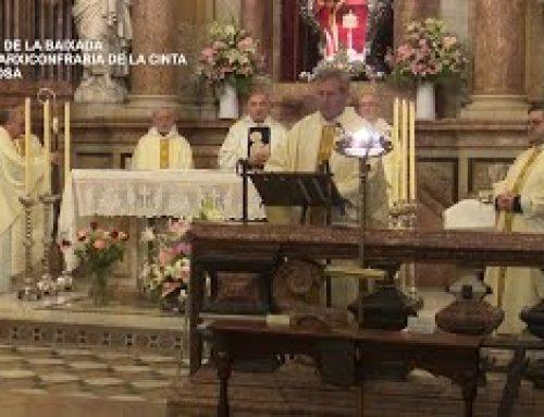 Missa de la baixada de la Cinta a Tortosa