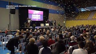 Presentació del candidat d'Enlairem Deltebre