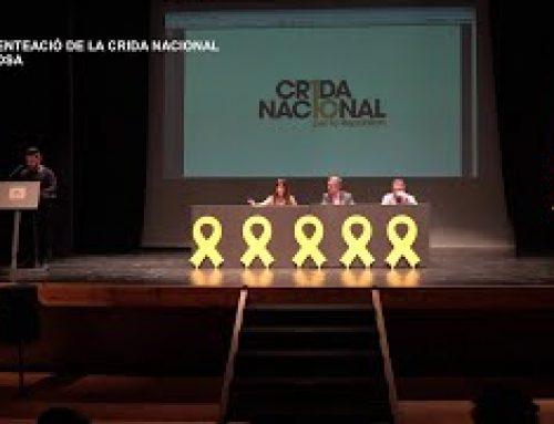 Presentació de la Crida Nacional per la República Terres de l'Ebre  a Tortosa