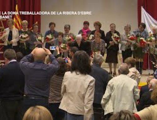 Dia de la dona treballadora de la Ribera d'Ebre a Benissanet