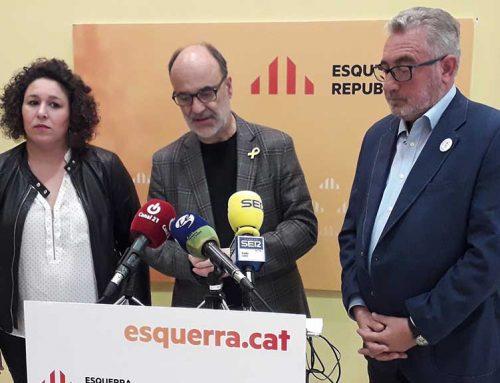 Pujol número dos al Congrés i Aubà tornarà a encapçalar la llista al Senat per Tarragona per Esquerra Republicana