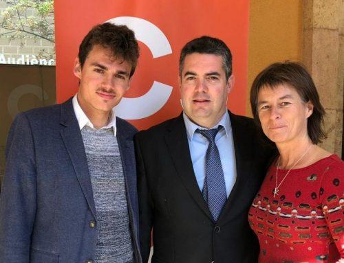 Ciutadans (Cs) confirma llistes a Tortosa, Amposta, Móra d'Ebre, Roquetes, Sant Carles de la Ràpita, l'Ampolla i l'Ametlla de Mar