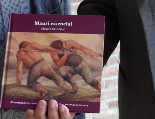 L'escriptor Manel Ollé recupera la memòria i l'obra del pintor Frederic Mauri
