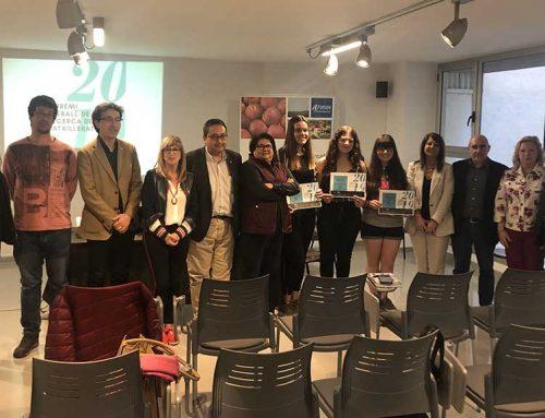 Irene Duran guanyadora del Xè Premi Treball de Recerca de la Ribera d'Ebre
