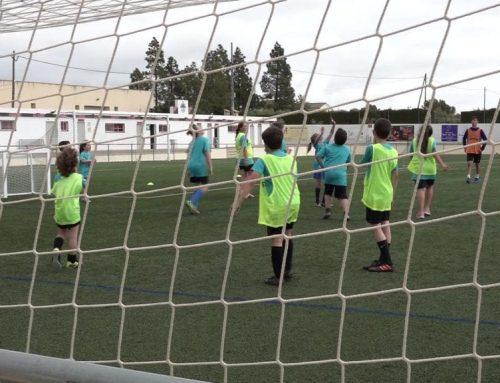 Valors i futbol juguen de la mà a les jornades de formació futbolística de l'AE Jordi Pitarque Ceprià