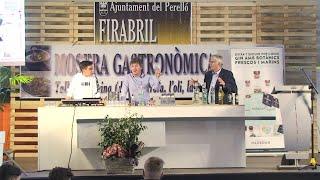 Showcooking Firabril 2018: Dani Casas (Blau Mar)