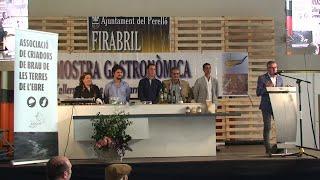 Showcooking Firabril 2019: Presentació embotits