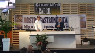 Showcooking Firabril 2019: Josep Margalef (El Molí dels avis)