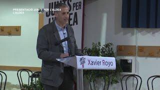 Acte presentació de la candidatura de Junts x L'Aldea