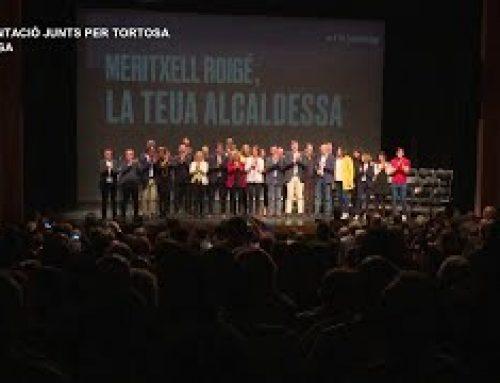 Presentació candidatura Junts per Tortosa