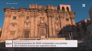 Noves troballes al davant de la Catedral de Tortosa