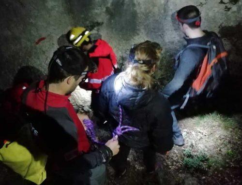 Els GRAE rescaten a una parella que s'havien perdut a Alfara de Carles