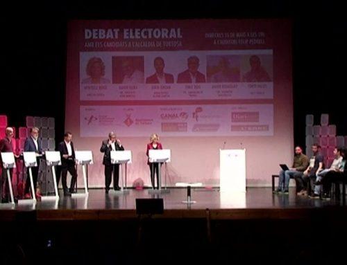 La campanya electoral a Tortosa passa de l'equador marcada pels debats