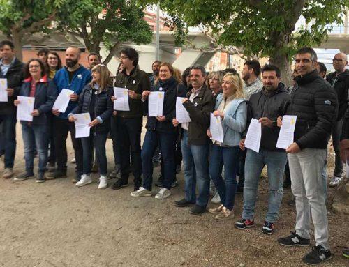 Les candidatures d'ERC-AM subscriuen un manifest conjunt per una Ribera d'Ebre viva i republicana