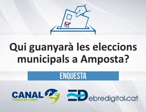 [ENQUESTA] Qui guanyarà les eleccons municipals a Amposta?