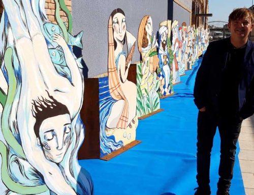 Les obres d'Ignasi Blanch sobre personatges històrics queden exposades temporalment al Museu de Tortosa