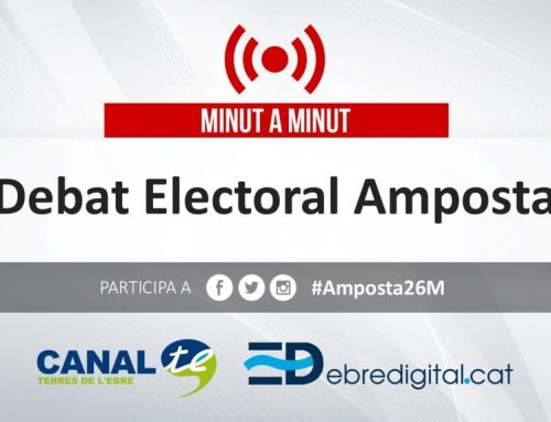 MINUT A MINUT: Debat Electoral Amposta