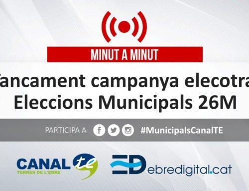 MINUT A MINUT: Tancament campanya electoral