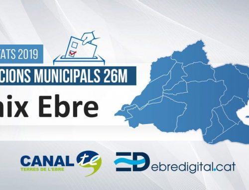 Resultats Eleccions Municipals 2019: Baix Ebre