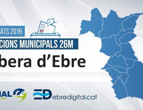Resultats Eleccions Municipals 2019: Ribera d'Ebre