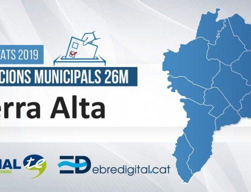 Resultats Eleccions Municipals 2019: Terra Alta