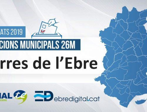 Resultats Eleccions Municipals 2019: Terres de l'Ebre